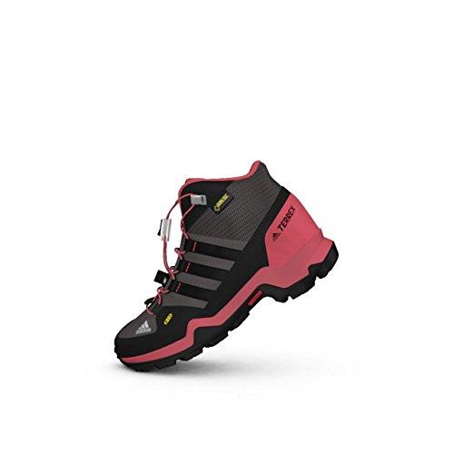 Adidas Terrex Mid Gtx K, Bottes de Randonnée Mixte Enfant, Gris (Gritra/Negbas/Rostac), 36 EU