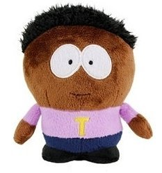 "SOUTH PARK - Peluche ""Token Black"" (8""/22cm) de"