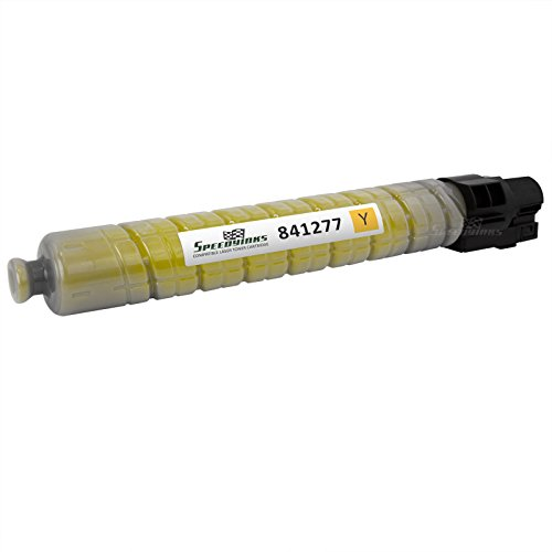Compatible Gestetner Drum - Speedy Inks - Ricoh Compatible 841277 841421 Yellow Laser Toner Cartridge for use in Ricoh Aficio MP C2800, Ricoh Aficio MP C3300, Ricoh Aficio MP C3001, Ricoh Aficio MP C3501, Lanier LD630C
