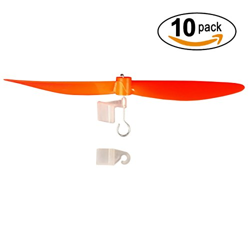 "5.75"" Plastic Propeller with Craft Stick Mount and Rubber Band Hooks"