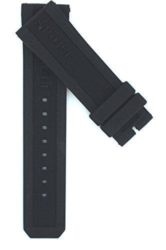23mm Rubber Suitable For BU7706 BU7764 BU7700 BU7707 Watches Band Strap - Burberry Replacement Strap