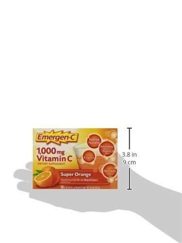 076314302031 - EMERGEN-C Emergen-C Drink Mix, Orange 36/Box carousel main 9