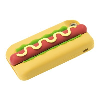 Coque Hot-dog en Silicone pour Apple iPhone 7/8