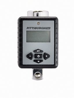 Digital Torque Adapter with Three Color LED and Progressive Audio Notification