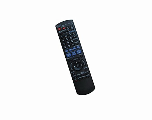Compatible Used Replacement Remote Control for Panasonic DMR-EZ475VK DMR-EZ475VPK DMR-ES30 DMR-ES36V DVD VCR Recorder Player -  HCDZ, HCDZ-X16459