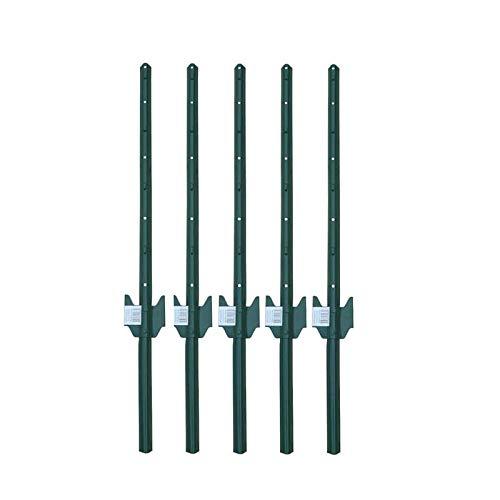 MTB Fence Post Sturdy Duty Fence U Post 3, Pack of 5