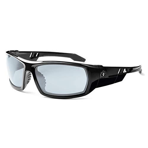 Skullerz Odin Anti-Fog Safety Glasses - Black Frame, In/Outdoor Lens