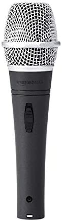 Amazon Basics Dynamic Vocal Microphone - Super Cardioid