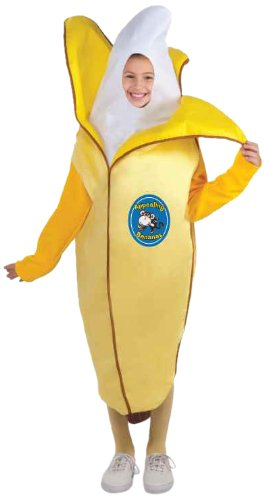 [Forum Novelties Fruits and Veggies Collection Appealing Banana Child Costume, Medium] (Pea Costumes)