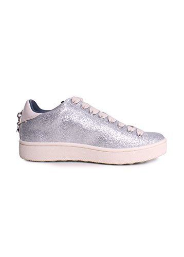 C121 Low Sneaker Coach Top Womens Silver vqwCx5O8