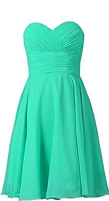 VaniaDress Women Sweetheart Short Bridesmaid Dress Prom Party Gowns V277LF
