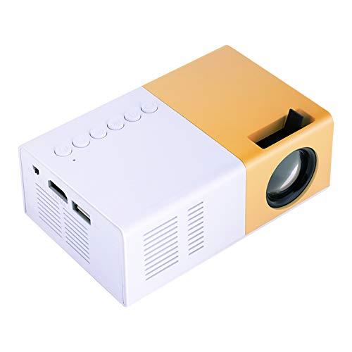 Tosuny Mini beamer draagbare HD-projector ondersteunt 720p en 1080P, 1500 lumen ondersteunt HDMI, AV, VGA, USB en Micro…