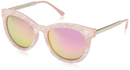 Item 8 Sp.1 Cateye Milky Pink Women's Designer Sunglasses by Foster - Item 8 Sunglasses