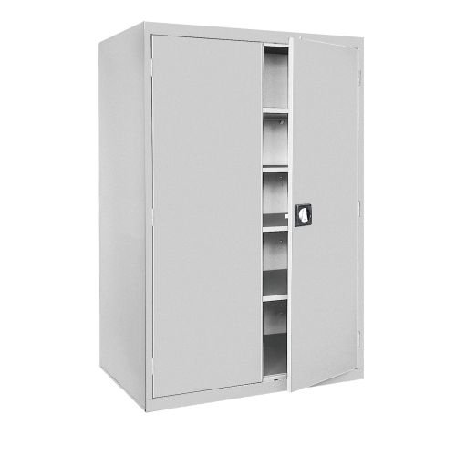 Sandusky Lee EA4R462478-05 Welded Steel Elite Storage Cabinet with Adjustable Shelves, 24