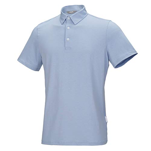 Men's Performance Nature Soft Tencel Polo Shirt, Stylish Fit, Comfortable & Cool