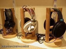 MYW 木製ヘッドホンスタンド 組み立て式 ハンドメイド ヘッドフォン 専用 ハンガー ウッド 保管やディスプレイやインテリア