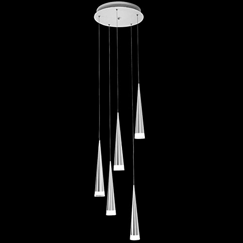 Modern 5 Light Pendant
