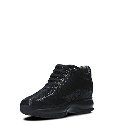 Da Pelle Nera Hogan Sneakers Hxw00n0z160h1sb999 Donna In wqAnIxCE