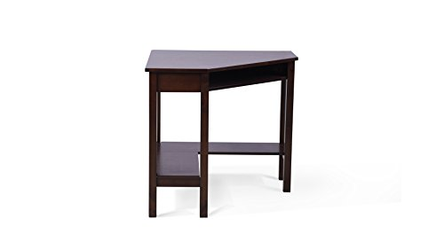 Urban Ladder Collins Corner Study Table  Finish : Dark Walnut