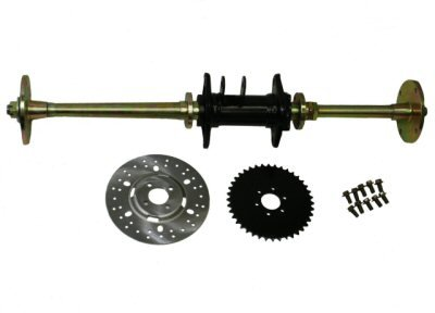 Rear Axle Assy Complete (150-9)