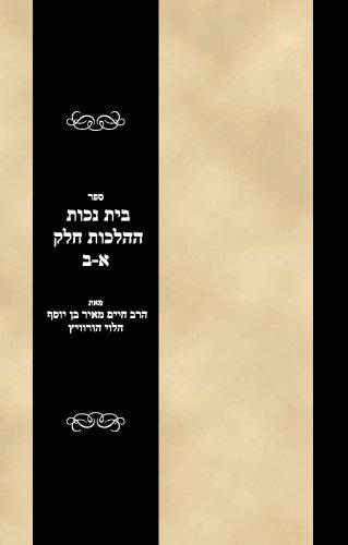Sefer Bais Nechos haHalachos Vols 1-2 (Hebrew Edition) ebook
