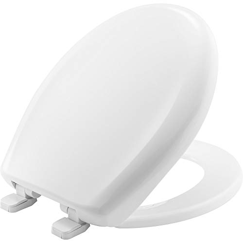 (CHURCH 300TCA 000 Toilet Seat, ROUND, Plastic, White)