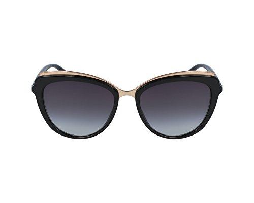 Dolce & Gabbana Women's Acetate Woman Sunglass Cateye, BLACK, 57.0 mm