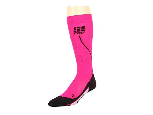 CEP Women's Progressive+ Run Socks 2.0, Pink/Black, 3