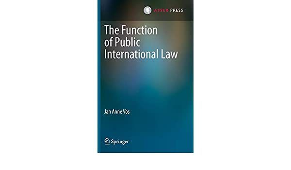 The Function of Public International Law