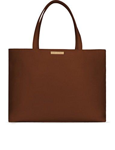 CAMYS CONCEPT - Bolso de tela para mujer Marrón marrón oscuro