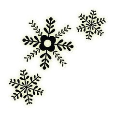 (Imaginisce - Christmas Cheer Collection - Snag 'em Acrylic Stamps - Snowflake)