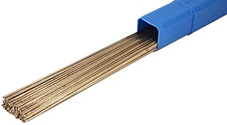 ERCuSi-A Silicon Bronze TIG Welding Rod - 36 x 0.045- (1 Lb)