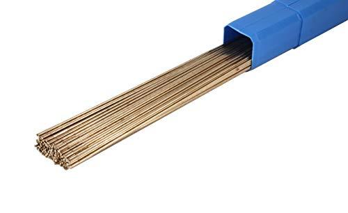 """ERCuSi-A Silicon Bronze TIG Welding Rod - 36"""" x 0.045""""- (1 Lb)"""