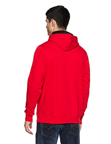 600 Hombres Fitted Rojo Armour Pull Rival Del Under Over 68Rz4