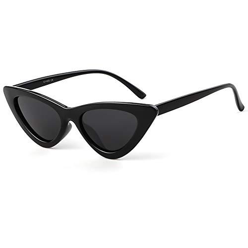 Polarized Clout Cat Eye Sunglasses Women Vintage Mod Style Retro Kurt Cobain ()