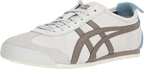 (Onitsuka Tiger Unisex Mexico 66 Shoes 1183A148, Glacier Grey/Dark Taupe, 7.5 M US)