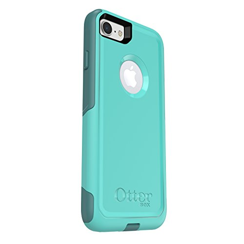 Price comparison product image OtterBox COMMUTER SERIES Case for iPhone 7 (ONLY) - Frustration Free Packaging - AQUA MINT WAY (AQUA MINT/MOUNTAIN RANGE GREEN)