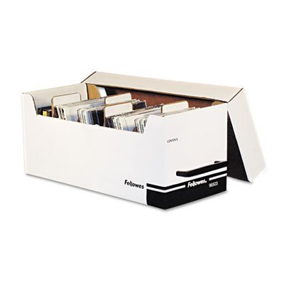 Corrugated Media File, Holds 125 Diskettes/35 Std. Cases, Sold as 2 Each