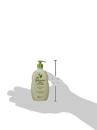 Johnson's Natural Head-to-Toe Baby Wash, 18 Ounce (Pack of 2) by Johnson's Baby (Image #4)