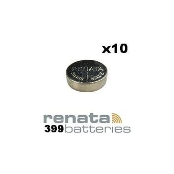 Renata 399 SR927W pila de botón para relojes fabricada en Suiza 1,55 V: Amazon.es: Electrónica
