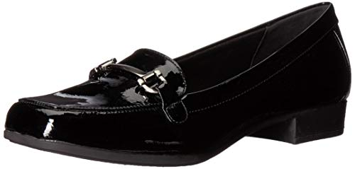 Anne Klein Women's Varina Loafer, Black, 7