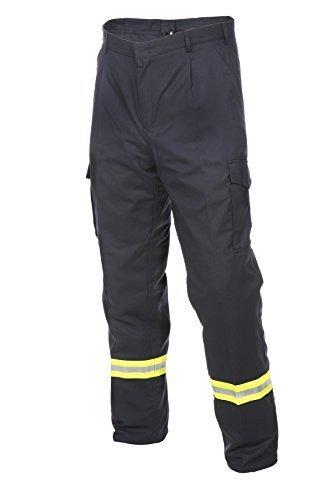 /pantaloni da lavoro per Vigili Del Fuoco HuPF Pantaloni 2 pz./reflex diverse misure/ cotone