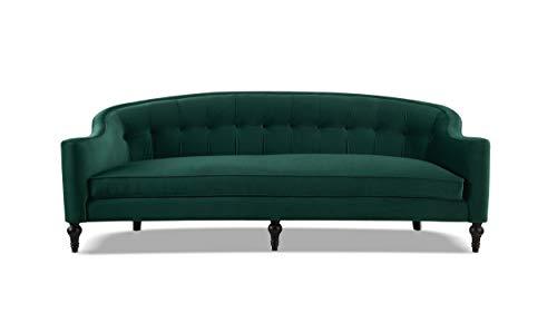 Jennifer Taylor Home Stewart Curved Back Sofa, Evergreen (Sofas Curved)