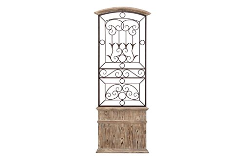 Deco 79 Metal WD Wall Decor, 56 by 21