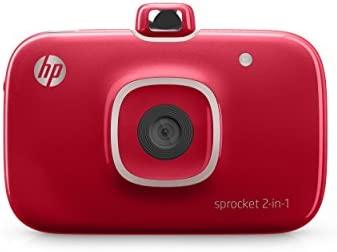 HP Sprocket 2-in-1 Impresora de Foto Zink (Sin Tinta) 313 x ...