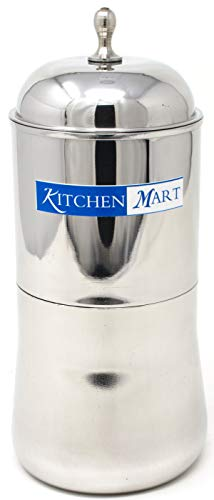 Kitchen Mart Aroma Steel Coffee Filter, 400ml, 5cups
