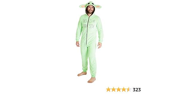 Pijama unisex de Star Wars, Baby Yoda - Mono de felpa para ...