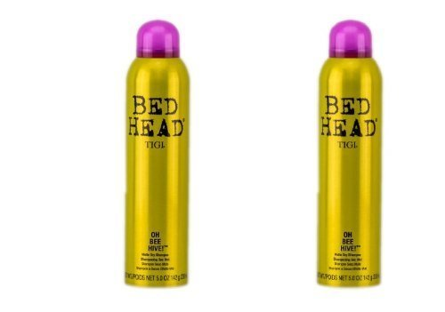 TIGI Bed Head Matte Dry Shampoo for Women, Oh Bee Hive!, 5 O