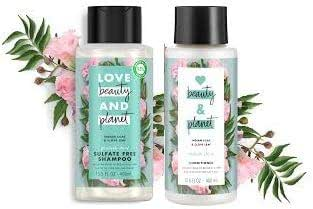 Shampoo & Conditioner: Love Beauty & Planet - Positively Shiny