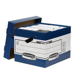 10 cajas para almacenamiento R-Kive caja archivo Intensivo con asas ergonómicas Bankers Box System 10 cajas archivo para oficina R-Kive - 81698: Amazon.es: ...